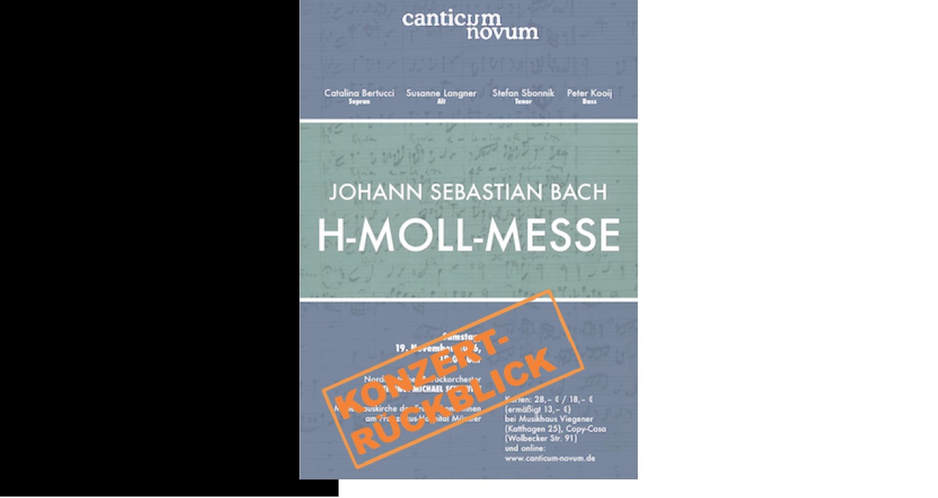 J. S. Bach: Messe h-Moll